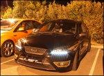 przykład czarnego samochodu marki ford focus