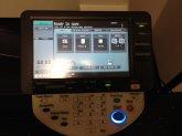 nowoczesna dotykowa drukarka