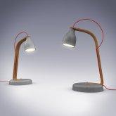 lampki na biurku