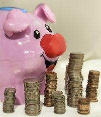 monety przy śwince