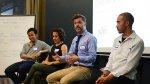 Pracownicy przedsiębiorstwa, narada, konferencja