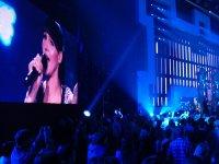 ekrany na koncertach