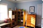 umeblowany pokój dziecka