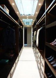 Przestronna garderoba