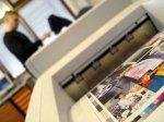 Prasa drukarska w drukarni
